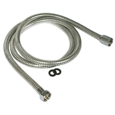 Camco 43716 MARINE SHOWER FLEX HOSE / CHROME SHOWER HEAD HOSE 60