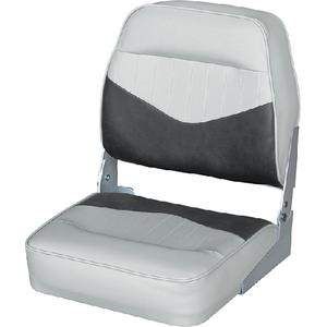 Wise Seating 8WD418-911 Contoured Low Back Fold Down Fishing Seat