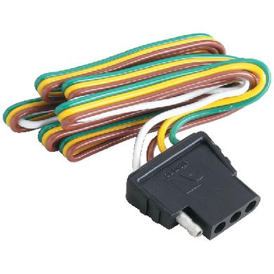 Attwood Marine 140173 Wiring Harness/connector 4-WAY Flat (Attwood)