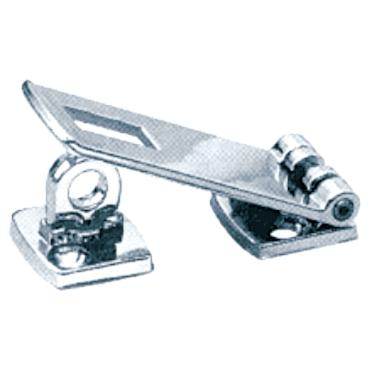 Attwood 2013A3 SWIVEL HASP / 3 SWIVEL HASP ZAMAK FLUSHMOUNT  sc 1 st  East Marine & Door Latches Stops \u0026 Hasps : Reliable Marine Parts Source