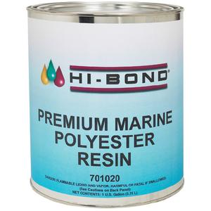 Hi Bond 701020 PREMIUM MARINE POLYESTER RESIN WITH WAX / POLYEST