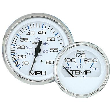 Faria 33807 CHESAPEAKE STAINLESS STEEL SERIES / CHES SS WHT TACH