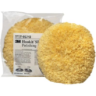3M Marine 05713 HOOKITTM WOOL POLISHING PAD / HOOK IT