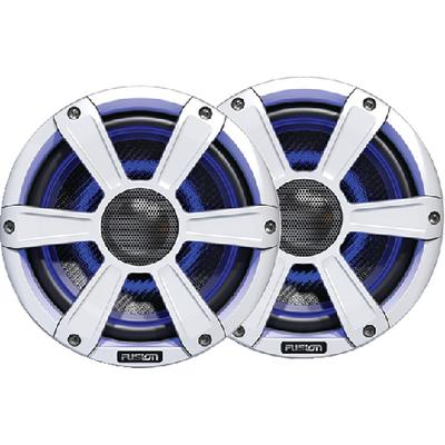 Fusion Electronics SGFL65SPW Marine Signature Series Speakers W/led Lights