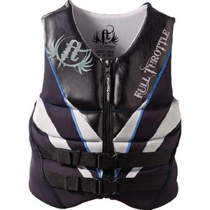 Kent 14240070005012 Neoprene Flex-Zone Vest (Full Throttle)