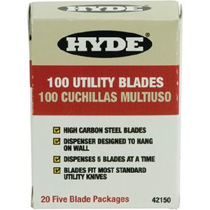 Hyde Tools 42150 Heavy-Duty Utility Knife Blades