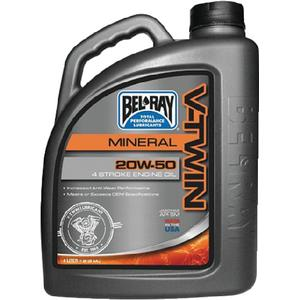 Bel-Ray Co Inc 96905BT4 V-Twin Mineral Engine Oil (Bel Ray)