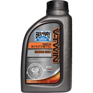 Bel-Ray Co Inc 96910BTI V-Twin Semi-Synthetic Motor Oil (Bel Ray)