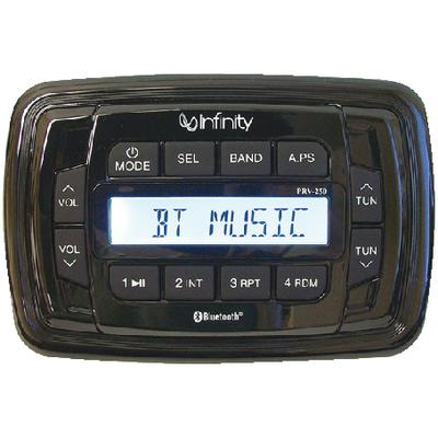 Infinity Marine INFPRV250 AM/FM/USB Bluetooth® Multimedia Stereo