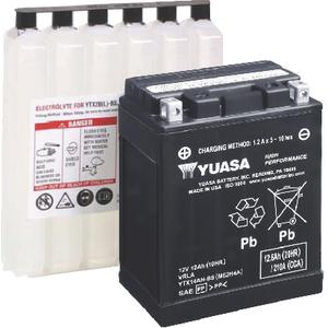 Yuasa Battery Inc YUAM6220C High PERFORMANCE, Maintenance Free - Fresh Pack (Yuasa)