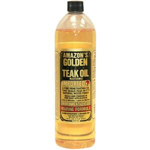 GTO125 GOLDEN TEAK OIL / PINT GOLDEN TEAK OIL