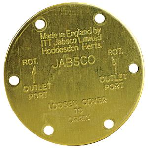 ITT Jabsco 118310000 UTILITY PUMP / END COVER