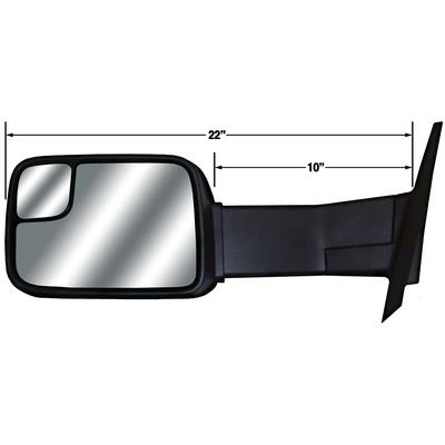 Cipa Mirrors 83100 Magna Extendable Replacement Towing Mirrors (Cipa Color)