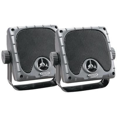 "Jensen JXHD35 3.5"" Mini Waterproof Surface Mount Speakers"