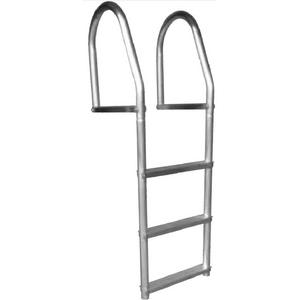 Dock Edge 2074F Fixed Eco Weld Free Aluminum Dock Ladder